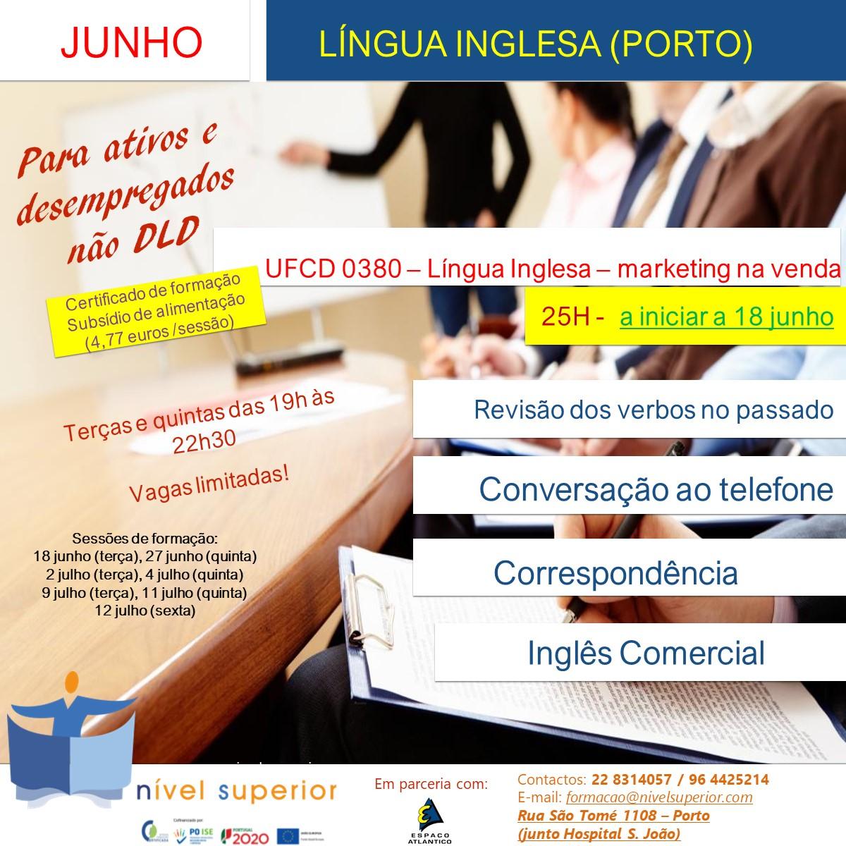 Língua inglesa - marketing JUNHO